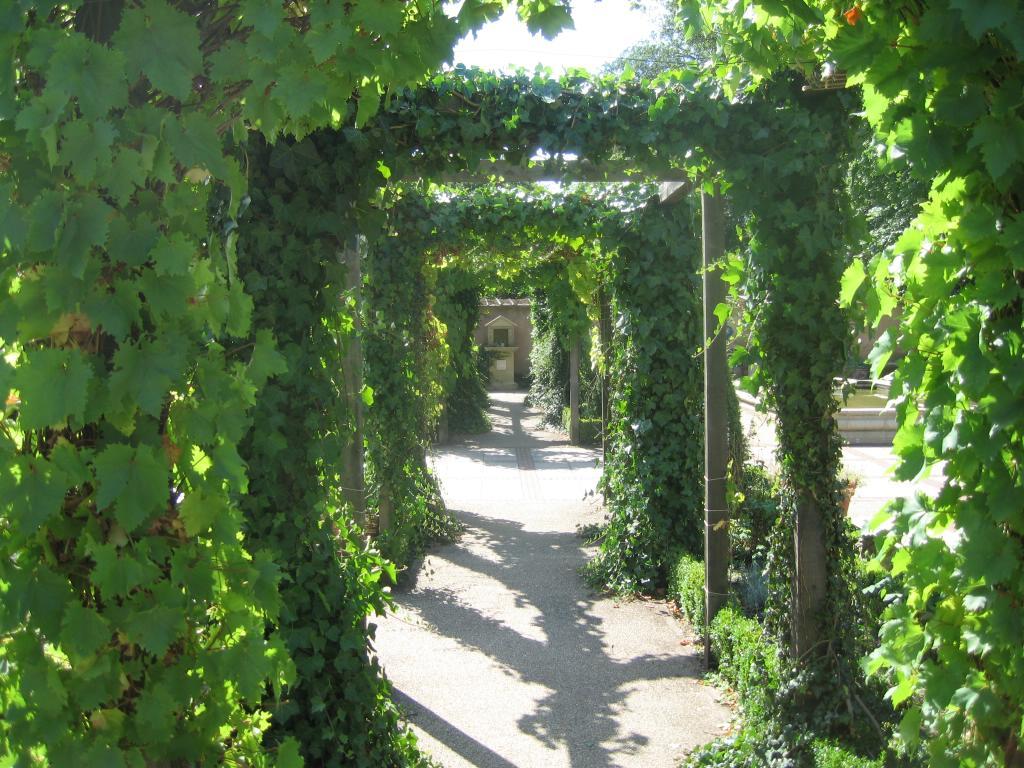 The roman gardens at chester zoo for Roman garden designs